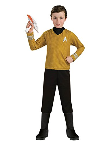 (Star Trek into Darkness Deluxe Captain Kirk Costume,)