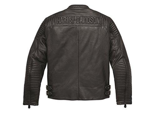 Harley-Davidson - Chaqueta - para Hombre Negro Large: Amazon ...