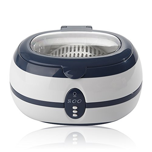 AGM 600ml 35W Stainless Steel Professional Ultrasonic Cleaner VGT-800 for Cleaning Eyeglasses Jewelry Watches