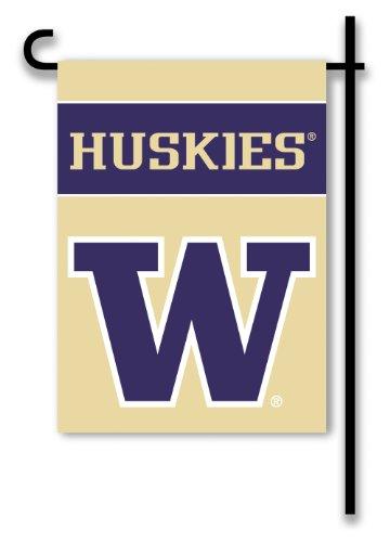 NCAA Washington Huskies 2-Sided Garden Flag
