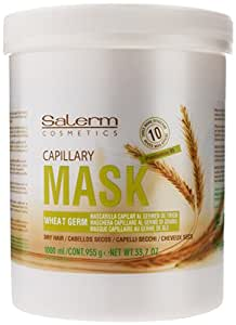 Salerm Wheat Germ Mascarilla Capilar Conditioning Treatment, 33.7 Ounce