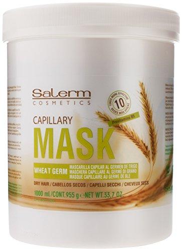 Salerm Wheat Germ Mascarilla Capilar Conditioning Treatment, 33.7 Ounce