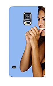 Hot Eva Mendes (1111) First Grade Tpu Phone Case For Galaxy S5 Case Cover