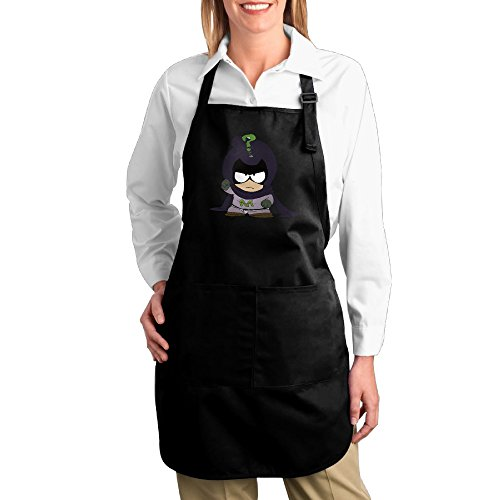 Costume Mysterion (Mysterion Kenny McCormick Kitchen Aprons For Women Men,Cooking Apron,bib Apron With)