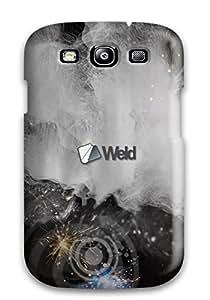 New Premium Flip Case Cover Welding Skin Case For Galaxy S3