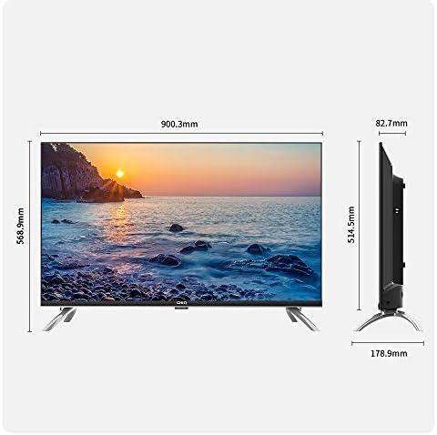 CHiQ Televisor Smart TV LED 40 Pulgadas, FHD, HDR10/HLG, Android 9.0, WiFi, Bluetooth, Google Assistant, Netflix, Prime Video HDMI, USB: Amazon.es: Electrónica