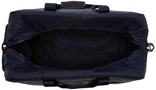 Tommy Hilfiger Light Nylon Duffle - Borse a spalla Uomo, Blu (Tommy Navy), 27x28x50 cm (B x H T)