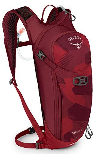 Osprey Packs Siskin 8 Hydration Pack, Molten Red