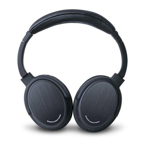 Photive BTH3 Over-The-Ear Wireless Bluetooth Headphones With