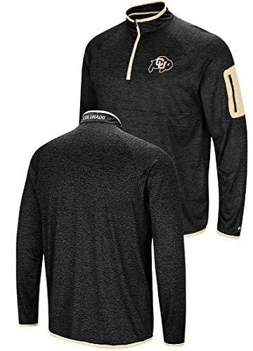 NCAA Men's Amnesia Quarter Zip Pullover Windshirt (X-Large, Colorado Buffaloes) ()