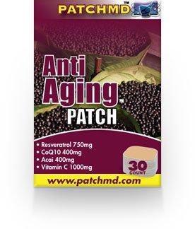 MD Patch: Patch Anti-Aging: 30 Nombre de 100% des suppléments d'antioxydants naturels
