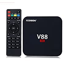 SCISHION V88 TV Box Rockchip 3229 Quad-Core 1G+8G Android 5.1 OTT 4K 3D Media Player Android TV Box