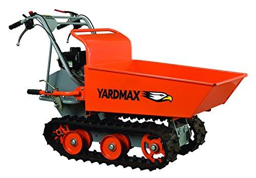 YARDMAX YD8103 Track Barrow 660 lb Capacity Briggs and Stratton CR950 65 hp 208cc