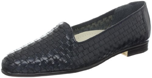 Trotters Women's Liz Loafer,Navy,8 W from Trotters