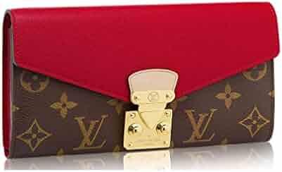 375868358aee Louis Vuitton Monogram Canvas Pallas Wallet M58414 Cherry Made in France