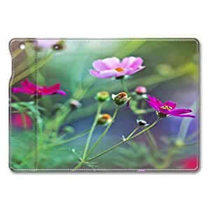 Amazing Flowers Smart Case Cover with Back Case for Apple iPad Air