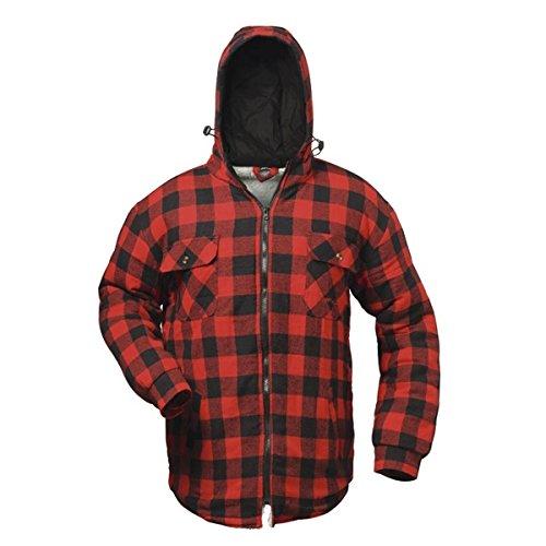 térmica de nbsp;S nbsp;– trabajo a nbsp;– País con forrado rojo l camisa negro y nbsp;Craft camisa nbsp;x nbsp;Chaqueta y nbsp;– nbsp;3 capucha Trabajo nbsp;– cuadros IqOIrwT