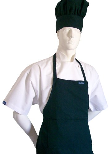 chefskin-adult-set-apron-hat-kelly-green-color-ultra-lightweight-cool-fresh-very-comfortable-center-