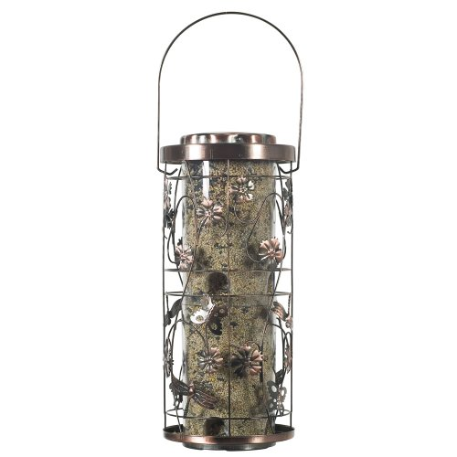 Caged Foyer - Perky-Pet 570 Copper Meadow Wild Bird Feeder