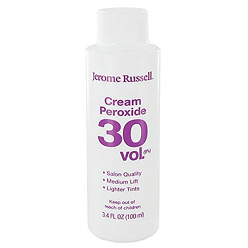JEROME RUSSELL Peroxide Cream 30 Volume 100ml, 3.4 Ounce 85223