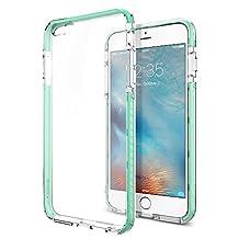 Spigen Ultra Hybrid TECH iPhone 6S Plus Case / iPhone 6 Plus Case with High Quality Bumper Protection for Apple iPhone 6S Plus / iPhone 6 Plus - Crystal Mint