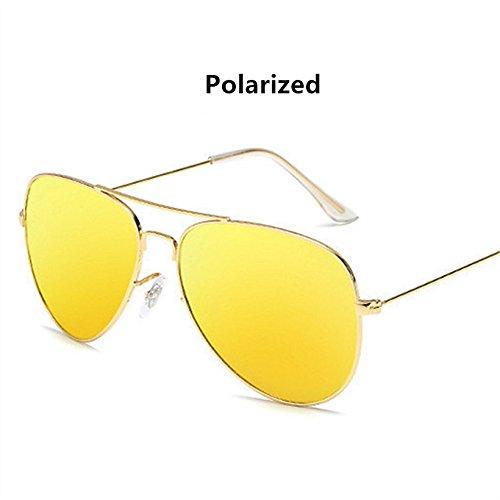 Classic black sol Gafas verano hombre y Aviator Gafas Gray moda WeiMay para de polarizadas sol de de de Gafas mujer ESqxdUw0d