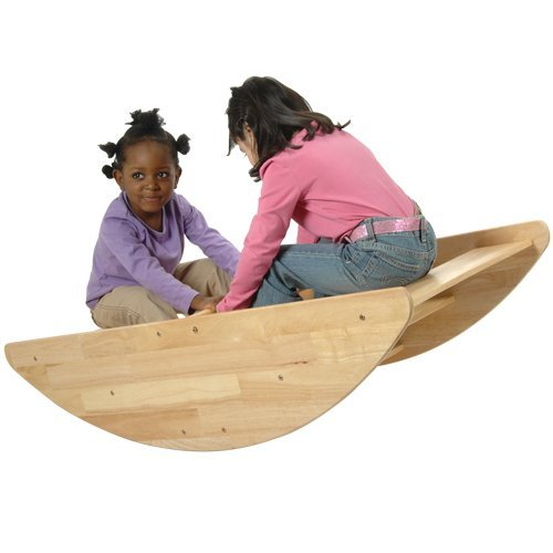 Discover Bargain Wooden Rocking Boat - Seats up to 4 Children