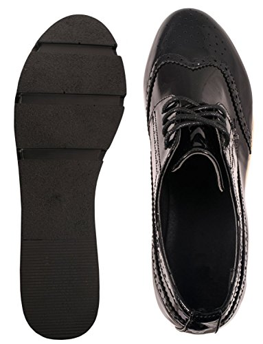 Elara - zapatos con cordones Mujer negro