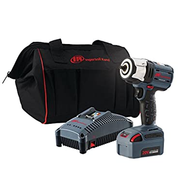 Ingersoll Rand W5132-K12 IQv20 Series Cordless Impactool Kit, 3/8 Inch