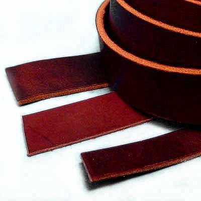 Springfield Leather Company Burgundy Latigo Leather Strip 3/4