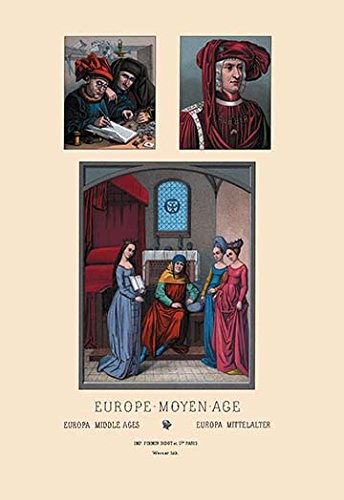 (Buyenlarge Europe - Fifteenth Century Civil Costumes - Gallery Wrapped 28