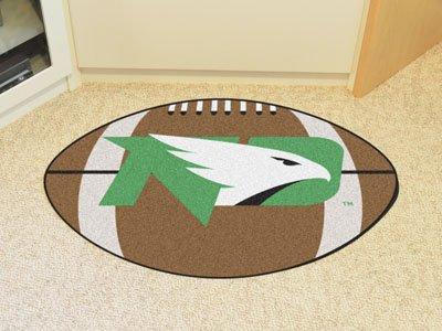 Fan Mats University Of North Dakota Football Mat BROWN/GREEN/WHITE/BLACK 22 X 35