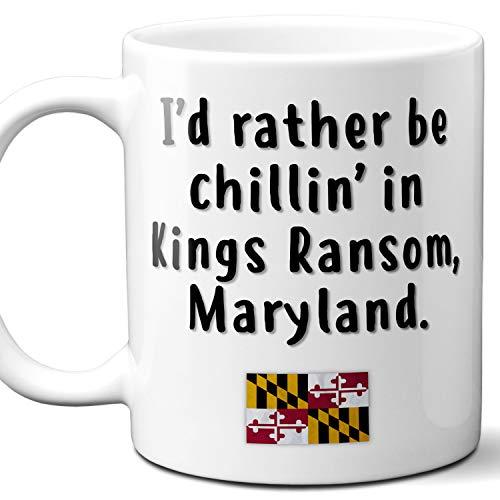 Kings Ransom Maryland Coffee Mug Souvenir Gift.