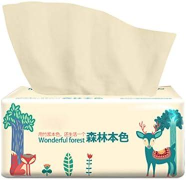 Ncbvixsw Seidig glattes, weiches, hochwertiges 3-lagiges Toilettenpapier für Küche, Toilette, Gesichtstücher, weich, saugfähig, 100% natürliches Holz, praktisches Zubehör für die persönliche Pflege