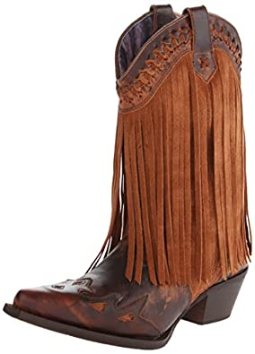 Amazon.com | Dingo Women's Heart Throb Western Boot | Mid-Calf