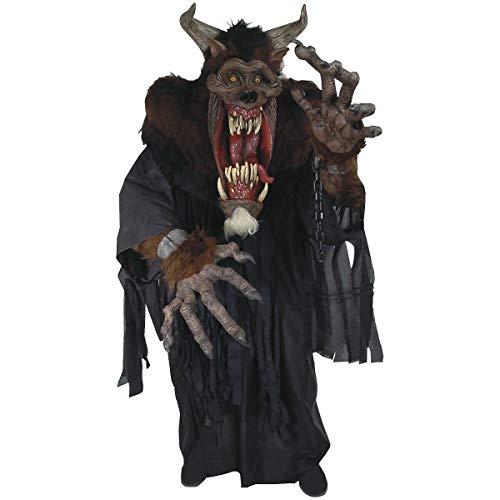 (Scary Monster Costume Adult Demon Beast Creature Reacher Halloween Fancy)