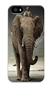 IMARTCASE iPhone 5S Case, African Elephant PC Hard Plastic Case for Apple iPhone 5S and iPhone 5