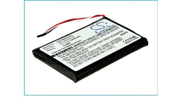 1200mAh Replacement Battery for GARMIN 010-01316-00 A3AVDG03