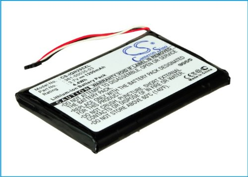 1200mAh Battery For Garmin Nuvi 2595LMT, Nuvi 2555LMT, Nuvi 2555LT, Nuvi 2495LMT VINTRONS Digi-Tech CS-IQN295XL