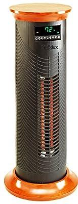 Lifesmart Products LS31CIQTMW Infrared Heater, 1500-watt, Black