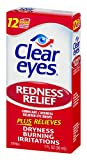 Clear Eyes Redness Relief Eye Drops   Relieves