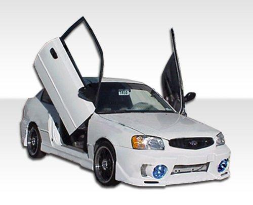 2dr Evo Front Bumper - 2000-2002 Hyundia Accent 2DR Duraflex Evo 5 Kit- Includes Evo 5 Front Bumper (102470), Evo 5 Rear Bumper (102472), and Evo 5 Sideskirts (102471). - Duraflex Body Kits