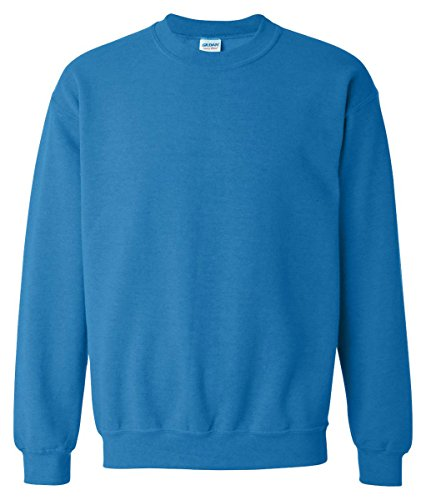 Gildan Men's Fleece Crewneck Sweatshirt Carolina Blue Large by Gildan