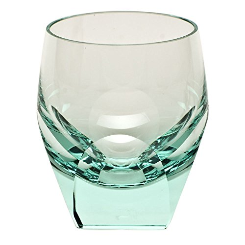 Moser Crystal Beryl Bar Double Old Fashioned by Moser