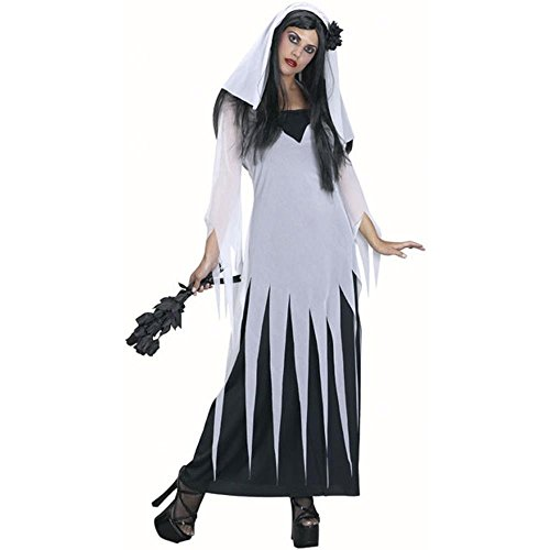 Bride Of Darkness Adult Costumes (Adult Bride Of Darkness Costume (Size: Standard 12))