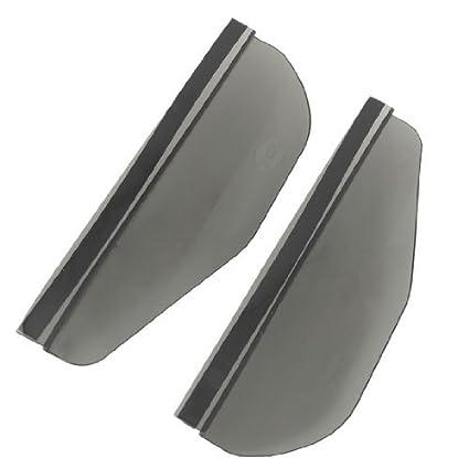 Rear View Side Mirror Rain Board Sun Visor Shade Shield Transparent 2 PCS
