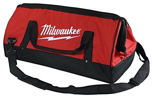 Milwaukee Handles (Milwaukee Bag 23x12x12nch Heavy Duty Canvas Tool Bag 6 Pocket)