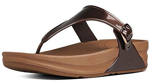 FitFlop Women's Superjelly Rubber Flip Flops Jelly Sandal...