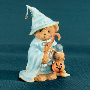 Cherished Teddies Collection Wizard W/cane Figurine
