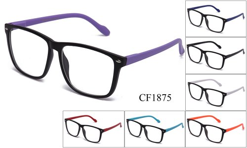 IG Unisex Slim Thin Over Sized Round High Quality Clear Lens Glasses